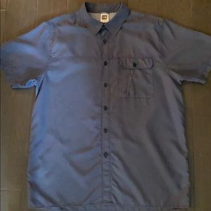THE NORTH FACE Mens Short Sleeve Buttondown